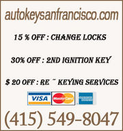 Auto Key Locksmith San Francisco