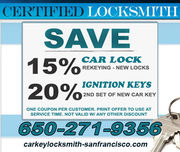 Car Locksmith San Francisco,CA